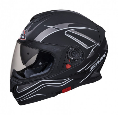 Helm SMK Twister Splash Zwart XS