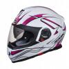 Helm SMK Twister Splash Wit S